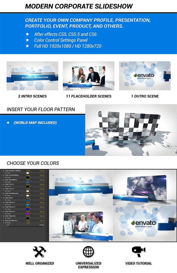 modern corporate slideshow by frollibas videohive