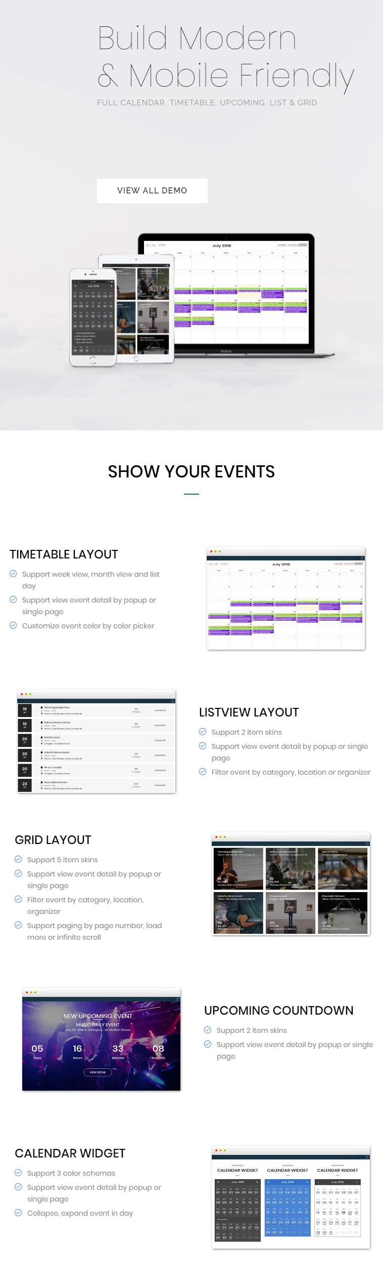 FAT Event - WordPress Event and Calendar Booking - 5