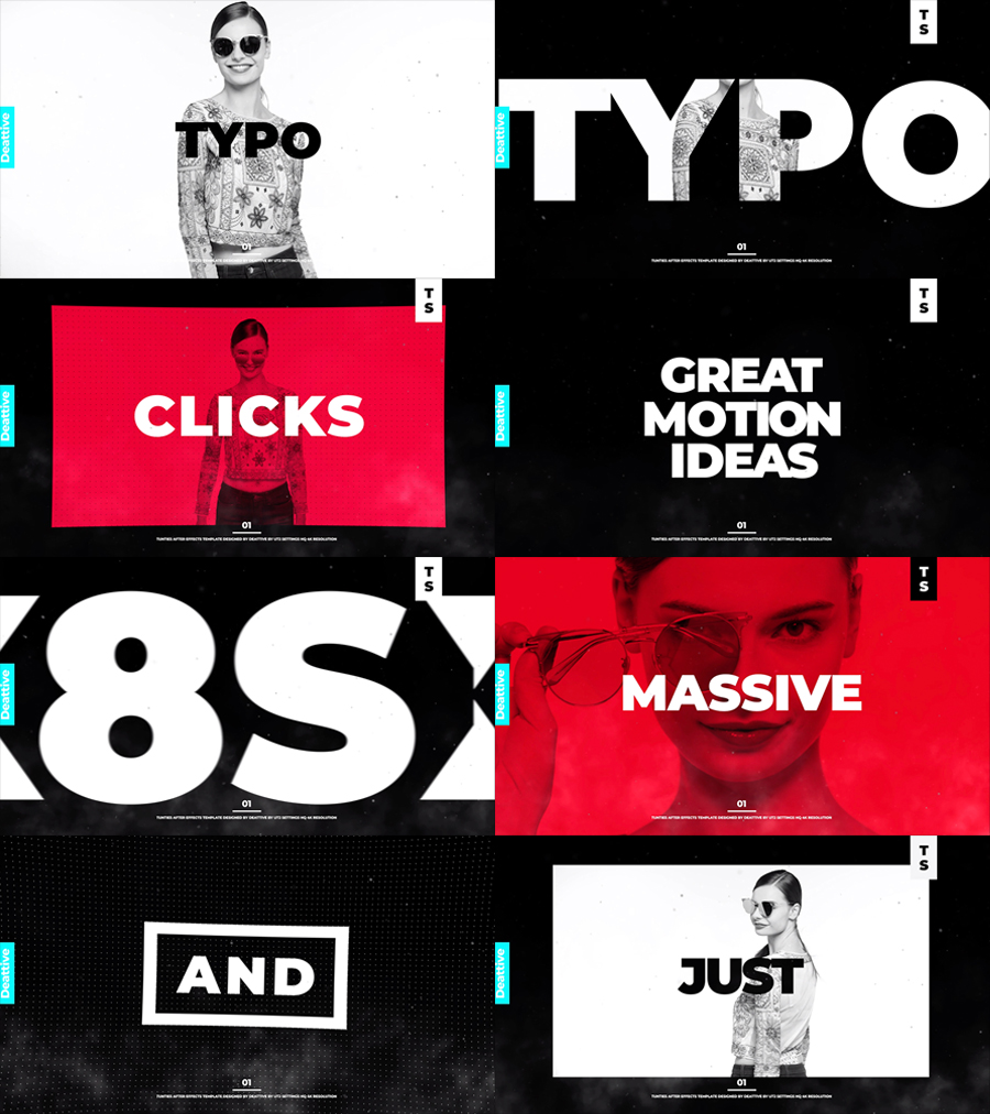 Typography » Free After Effects Template