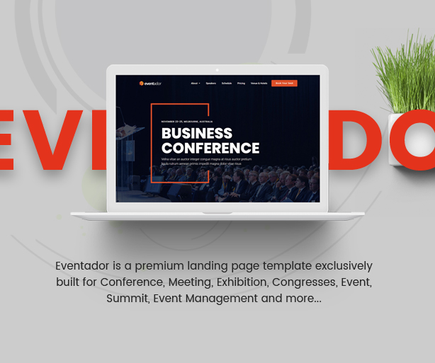 EventAdor Event Conference Marketing WordPress Theme