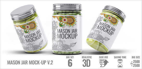 Mason Jar Mock-Up V.1 - 2