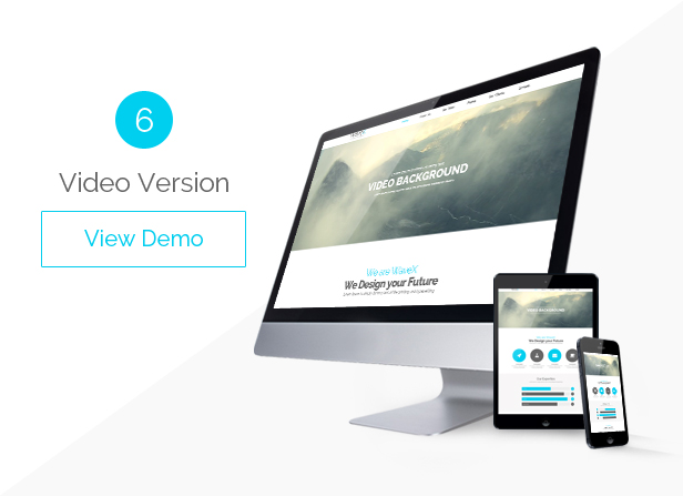 WaveX - One Page Parallax Joomla Template - 6