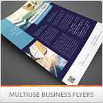 Multipurpose Corporate Flyers, Magazine Ads Vol. 9