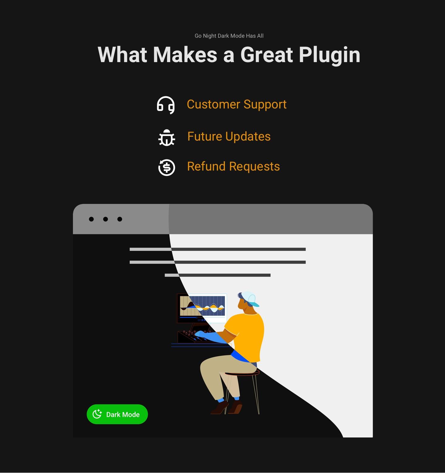 Dark Mode Plugin   Go Night Pro