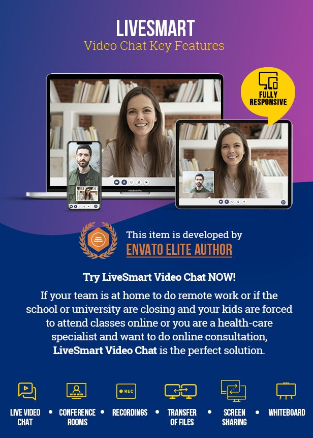 LiveSmart Video Chat - 1