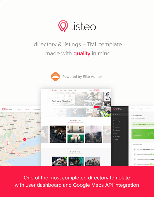 Listeo - Directory & Listings HTML Template by Vasterad | ThemeForest