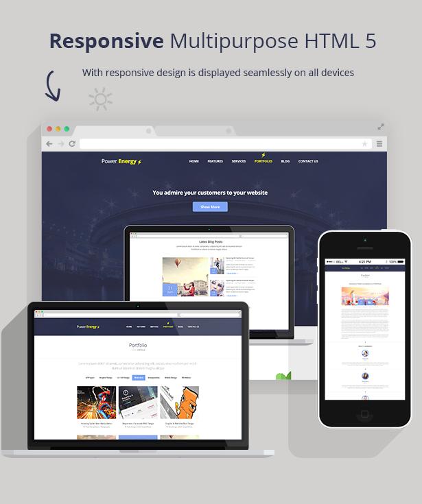 Power Energy - Responsive Multipurpose HTML 5 - 1