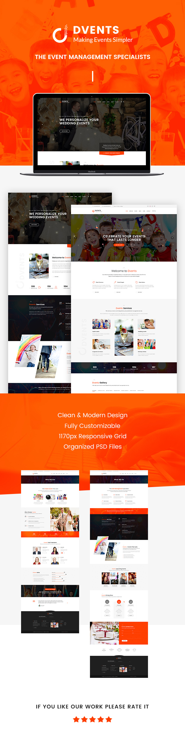 DVENTS - Events HTML Template by Templines   ThemeForest