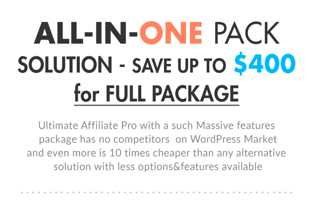 Ultimate Affiliate Pro WordPress Plugin - 7