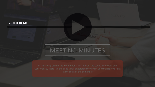 CLICK HERE FOR DEMO MEETING MINUTES POWER POINT PRESENTATION