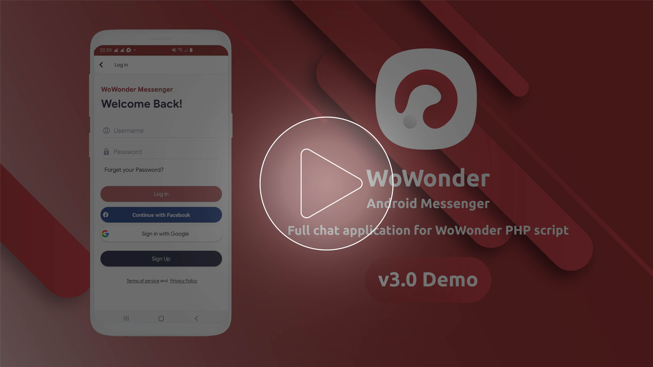 WoWonder Android Messenger - Mobile Application for WoWonder Social Script - 2