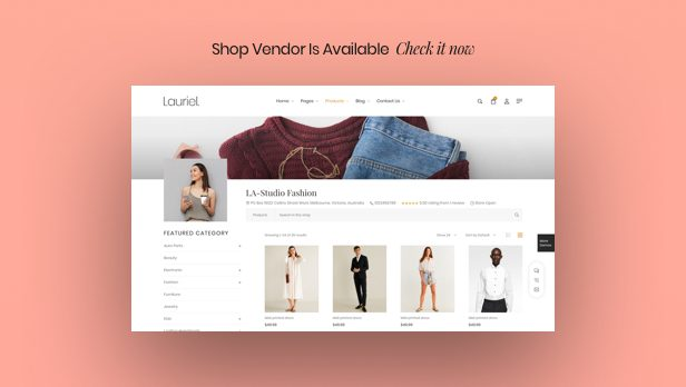 Lauriel – Multipurpose WooCommerce Theme - 3