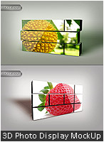 3D Abstract Background Design - 35