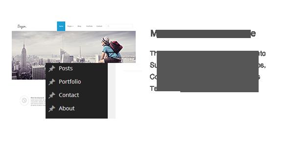Sugar - Business Responsive WordPress Theme - 9