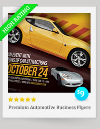 Premium Automotive Business Flyers