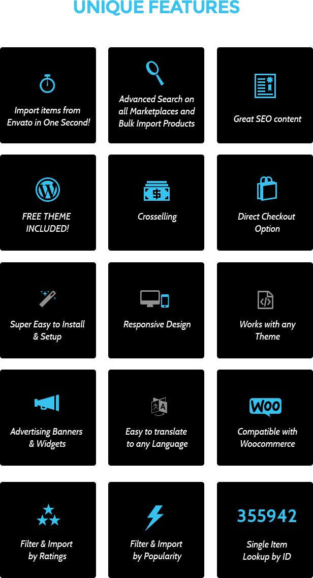 Woocommerce Envato Affiliates - WordPress Plugin - 2