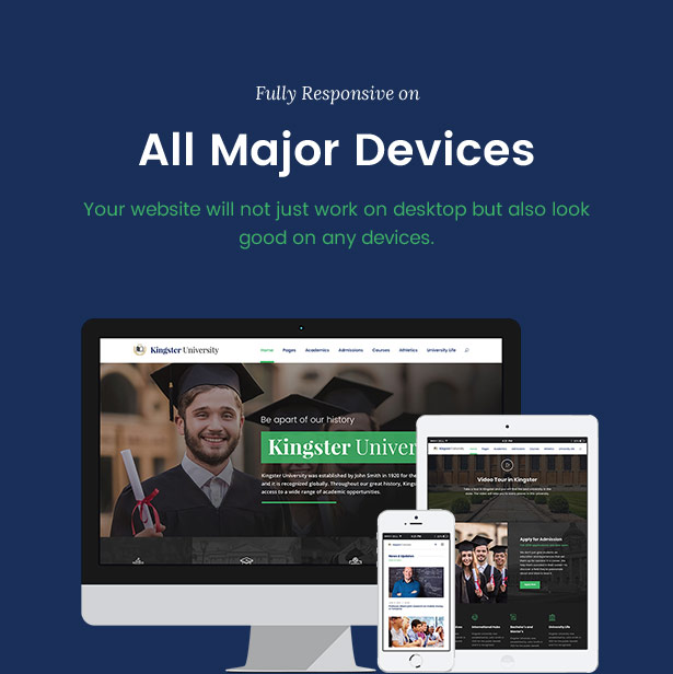 Kingster - Education WordPress For University, College and School - 14