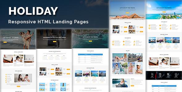 Black - White - Multipurpose Responsive HTML Landing Page - 5