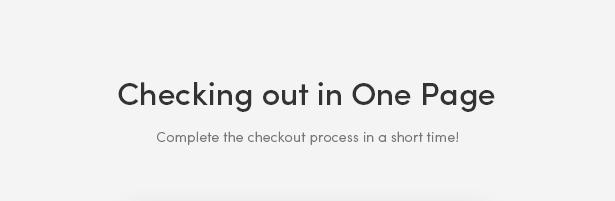 One Page Checkout Process - Zoli - Minimal & Modern Fashion WooCommerce WordPress Theme