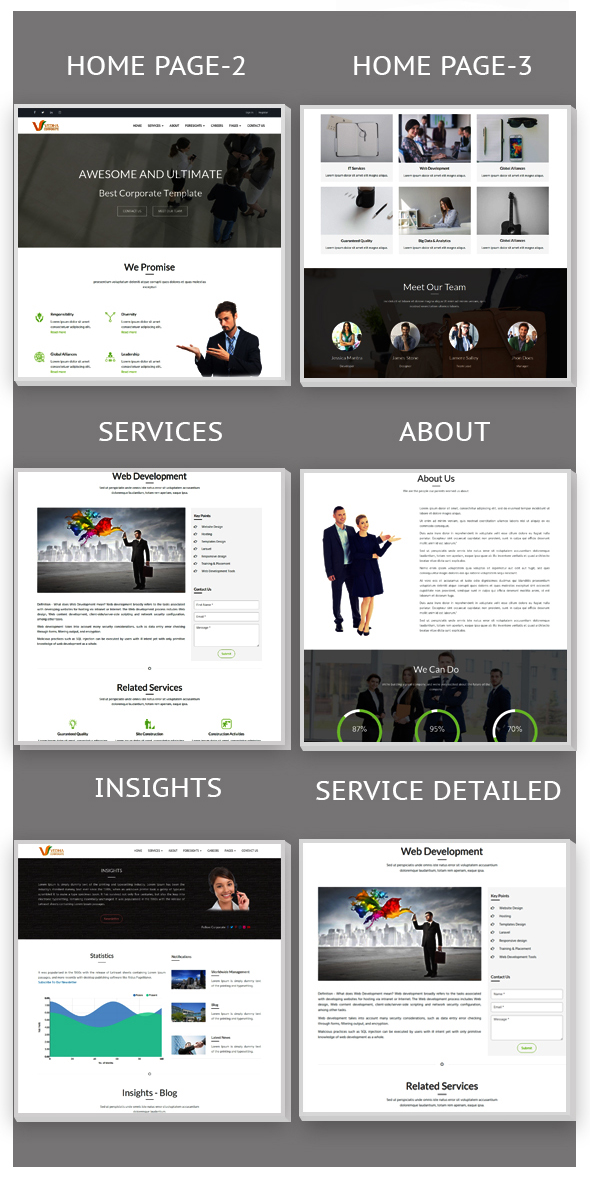 Vedha - Corporate HTML template - 4