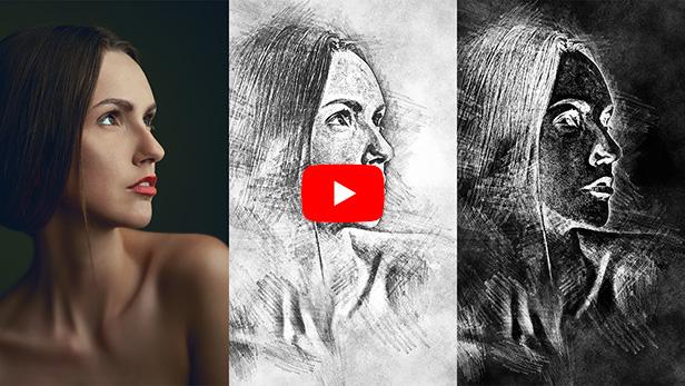 Chalk Sketch Photoshop Action - 5