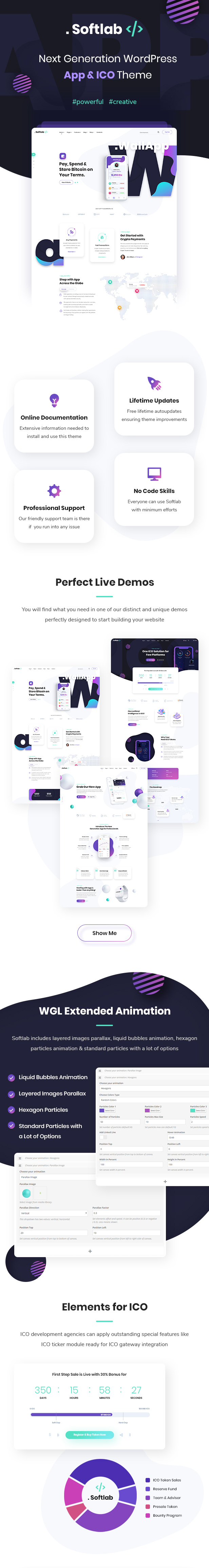 Softlab - Startup and App WordPress Theme - 2