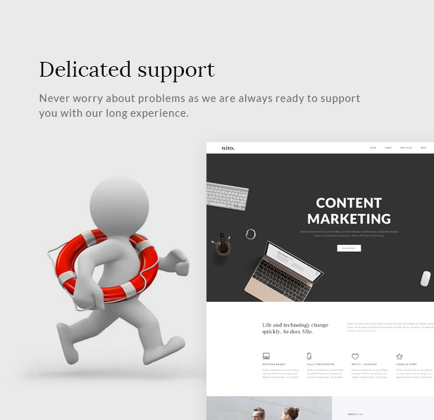 Best selling multipurpose theme
