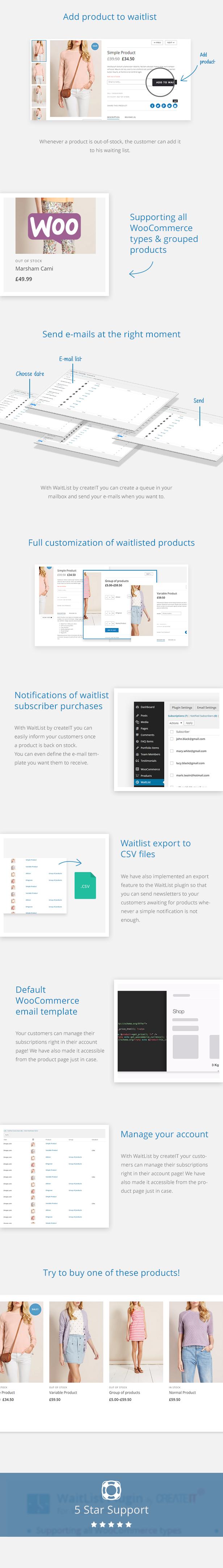 Waitlist for WooCommerce - Back In Stock Notifier - 8