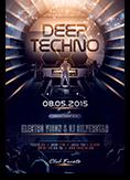 Deep Techno Flyer