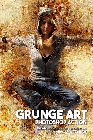grunge art