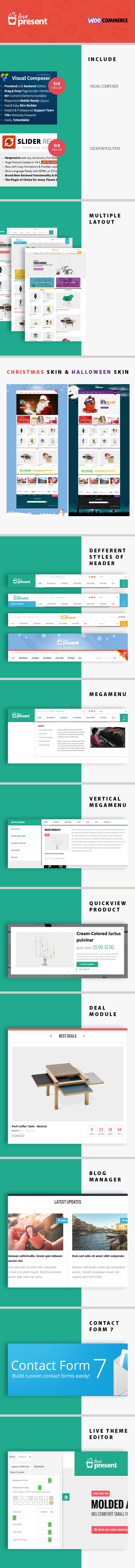 Present - Pro GiftShop WordPress Theme - 4