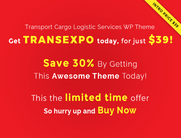 Transexpo WordPress Theme