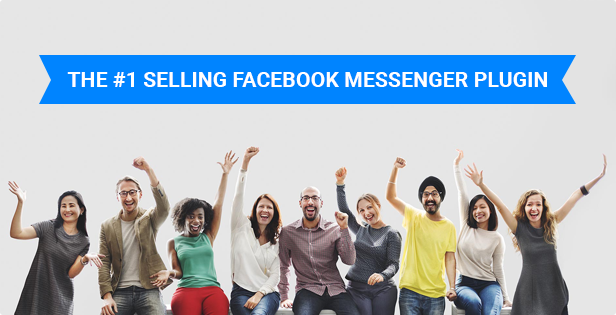 Best Selling Facebook Messenger  WordPress Plugin