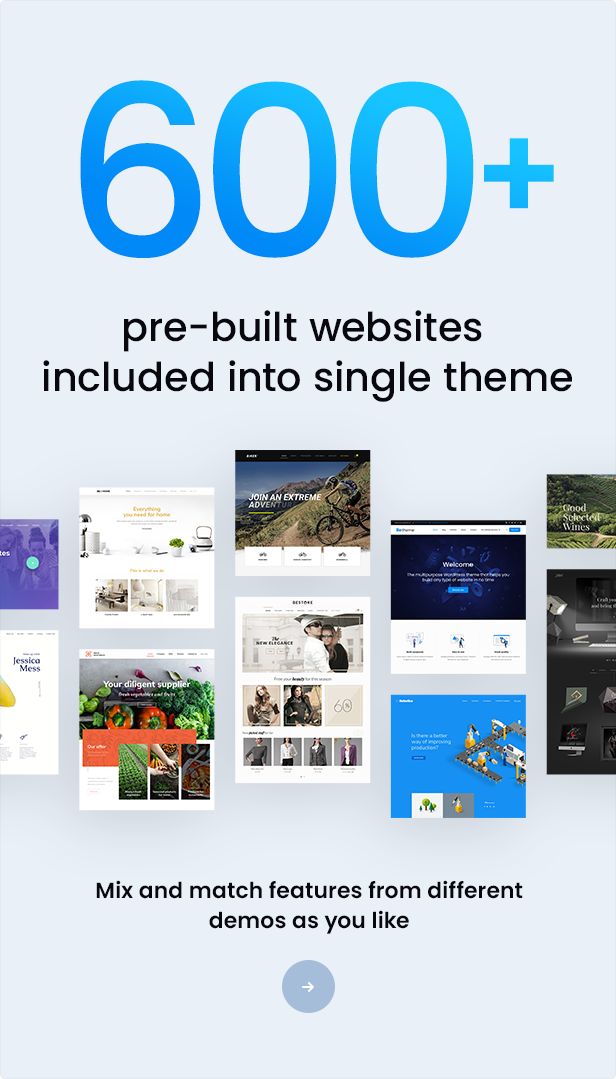Betheme   Responsive Multipurpose WordPress Theme - 1