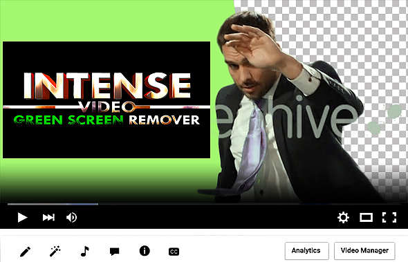 Intense Green Screen Footage Remover - 1