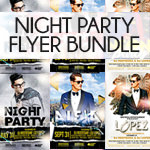 Night Club Flyer Bundle - 5