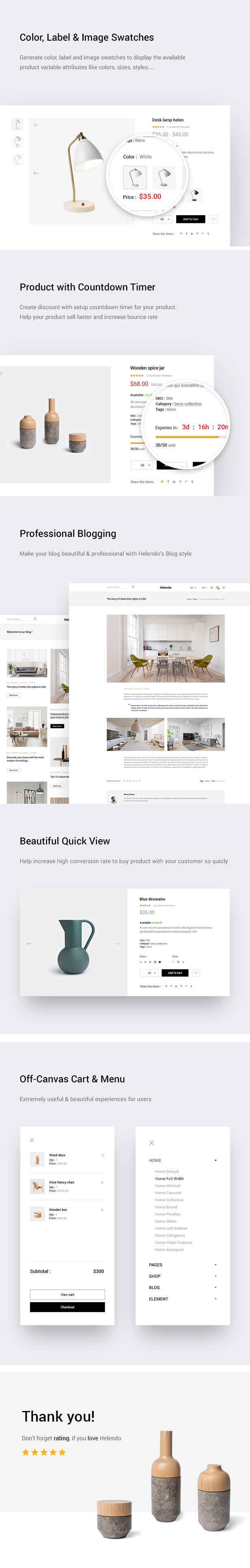 Helendo - Furniture eCommerce HTML Template - 2