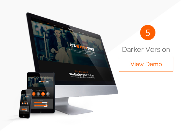 WaveX - One Page Parallax Joomla Template - 5