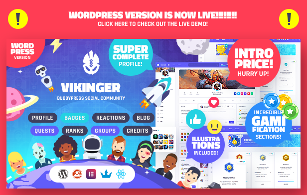 Vikinger - Social Network and Marketplace PSD Template - 7