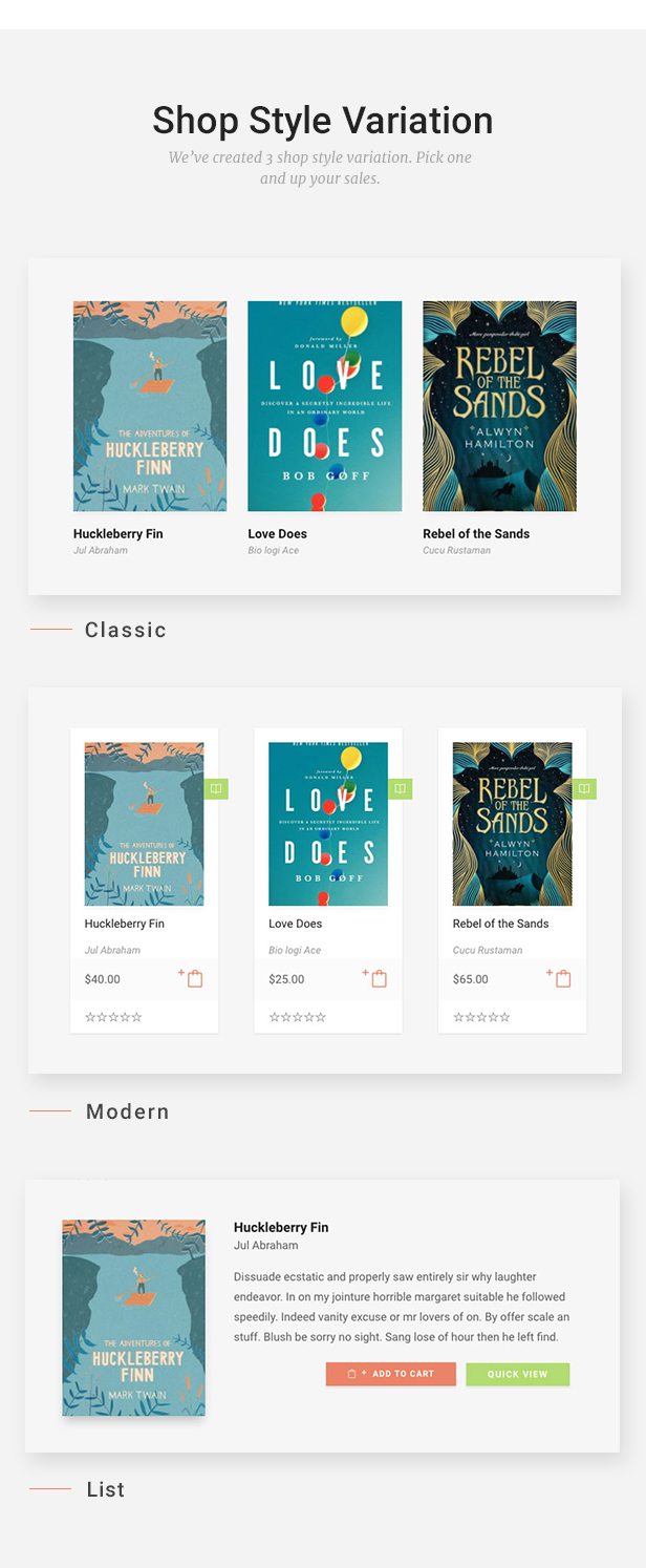 Livre - WooCommerce Theme For Book Store - 12