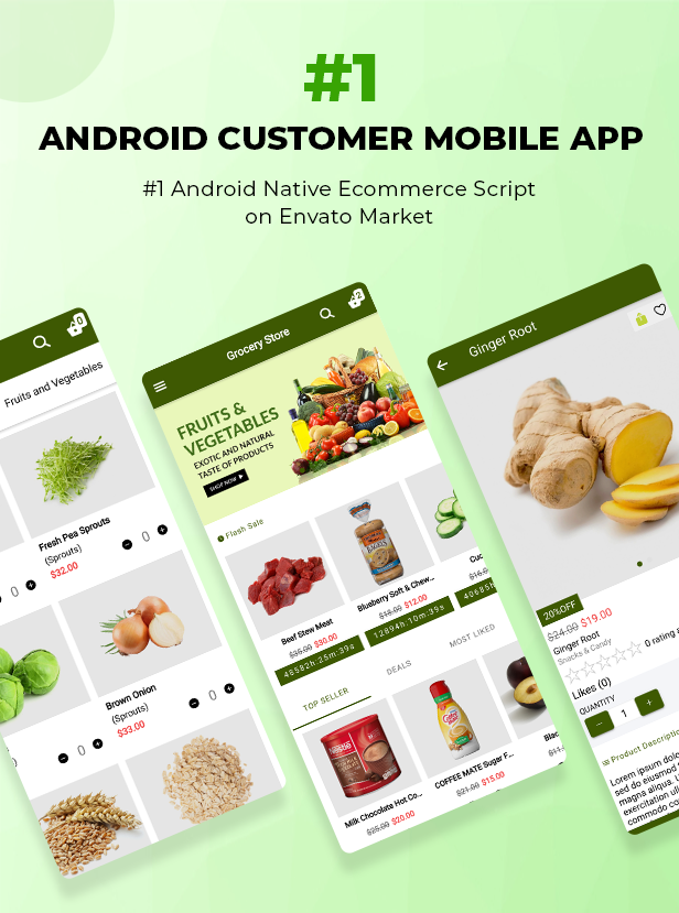 Ecommerce Solution with Delivery App For Grocery, Food, Pharmacy, Any Store / Laravel + Android Apps - 35