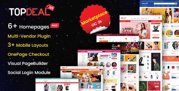 Market - Premium Responsive OpenCart Theme with Mobile-Specific Layout (12 HomePages) - 9