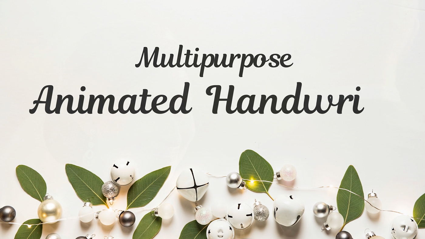 Magnolia - Animated Handwriting Typeface - 4