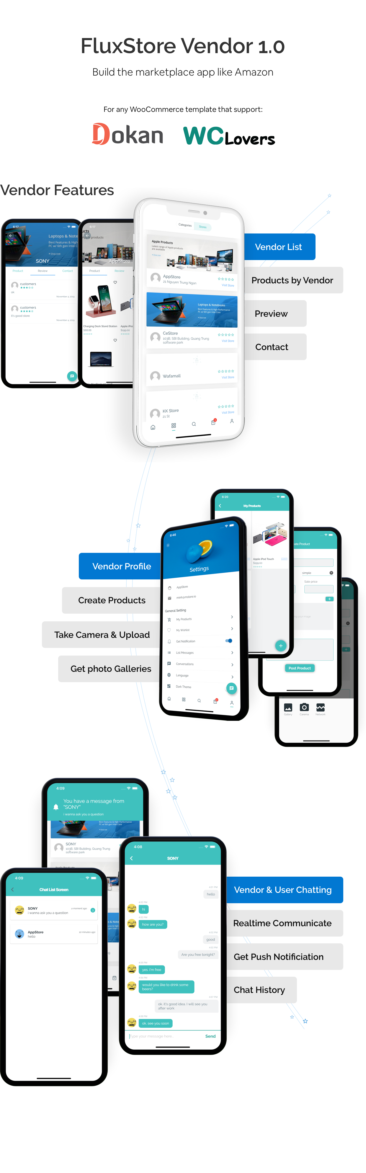 Fluxstore Multi Vendor - Flutter E-commerce Full App - 3