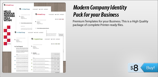 Premium Templates for your Business