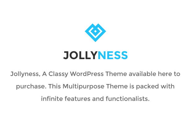 Jollyness - A Classy WordPress Theme