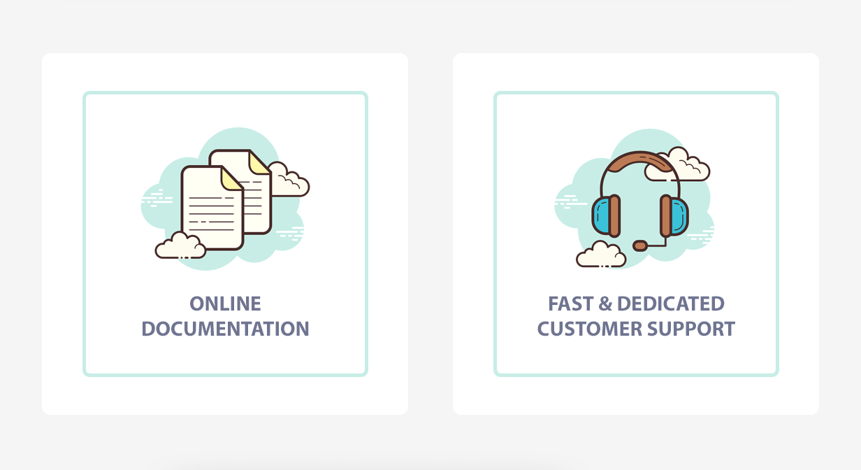 Online documentation - Fast support