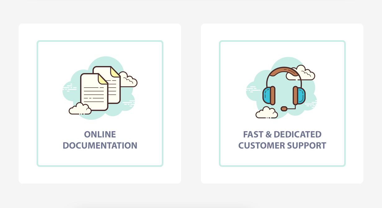 Online documentation - Fast support