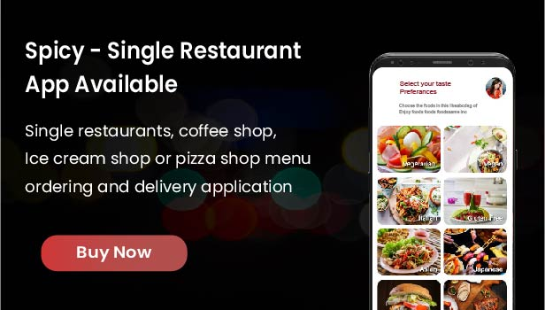 Native Restaurant Food Delivery & Ordering System With Delivery Boy - Android v2.0.6 - 7