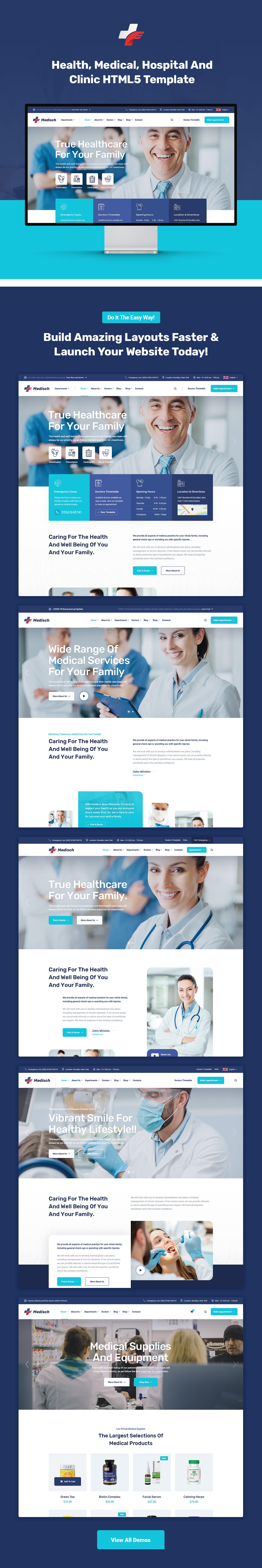 Medisch - Plantilla HTML5 médica y de salud - 1